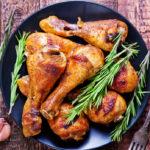 Cosce di pollo al forno. Ricette secondi piatti con pollo