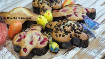 Muffin a forma di colomba