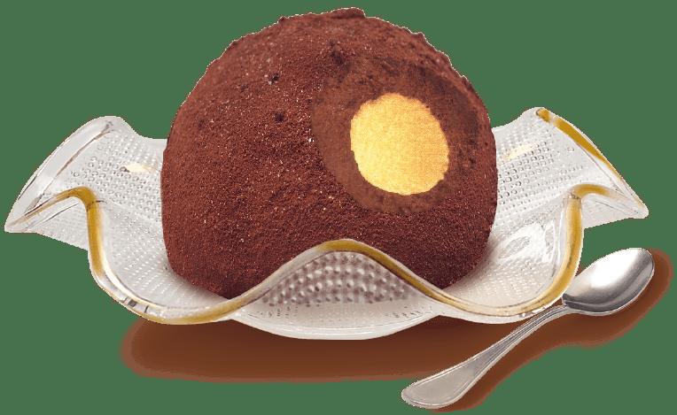 Gelato tartufo al cioccolato fatto in casa - Ricette gelati dolci Incucianconte.it