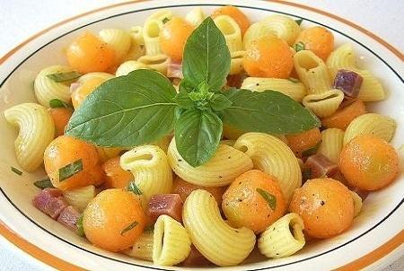 Pasta fredda prosciutto melone ricetta - Ricette piatti unic