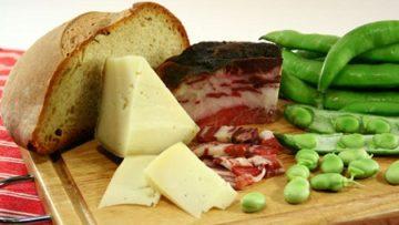 Pecorino e fave ricetta - Ricette antipasti InCucinaConTe