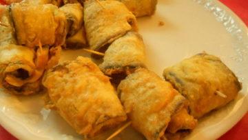 Ricetta Involtini di melanzane fritte - Ricette antipasti Incucinaconte.it