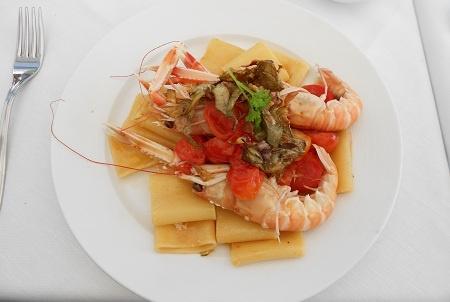 Ricetta Paccheri con scambi e carciofi - Ricette primi piatti InCucinaConTe.it