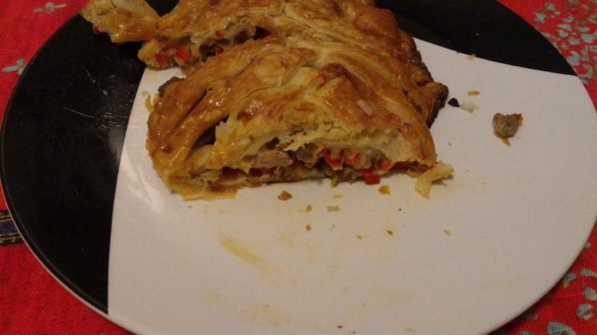 Ricetta intrecciato di pasta sfoglia - Ricette seondi piatti Incucinaconte.it