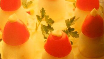 Ricetta uova delle fate - Ricette antipasto con uova, panna, maionese, paprica