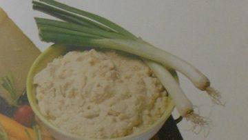 Ricette Salsa di cipolle e formaggio - Antipasti Incucinaconte.it