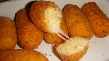 Ricette cucina italiana. Crocchette di formaggio. Ricette cucina antipasto