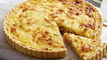 Torta quiche lorraine - Ricetta quiche lorraine Incucianconte.it