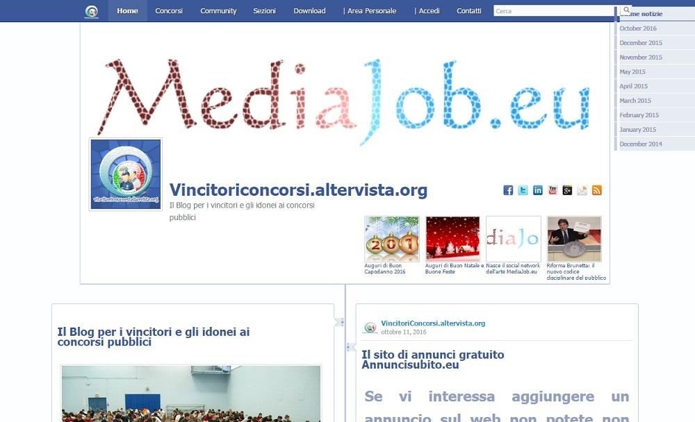 Blog vincitori concorsi pubblici e lavoro pubblico. Notizie concosi pubblici