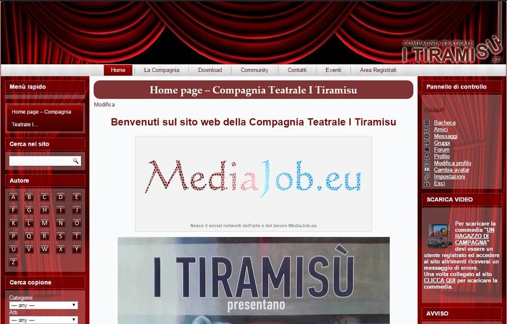 Spettacoli teatrali compagnia teatrale ITiramisu di Napoli. Scarica opioni teatri e commedie teatrali