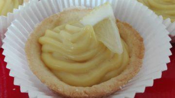 Crostatine con crema al limone. Ricetta dolcetti al limone cucina (2)