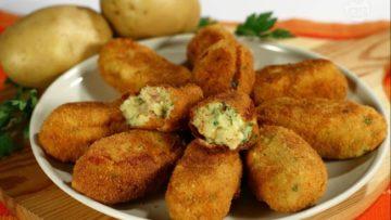 Polpette di patate ricetta. Ricette cucina facili e veloci