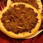 Pizzette libanesi. Ricetta pizzette libanesi- Ricette cucina libanese