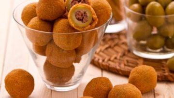 Ricetta olive ascolana. Ricette cucina antipasti veloci e semplici