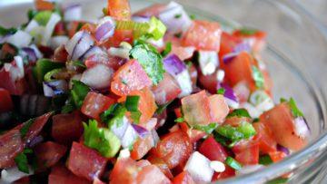 Salsa pico de gallo. Ricetta cucina messicana - Salsa pico de gallo