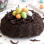 Torta nido di Pasqua al cioccolato - Dolce Pasqua