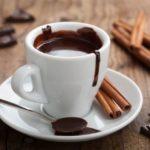 Cioccolata calda con vino rosso