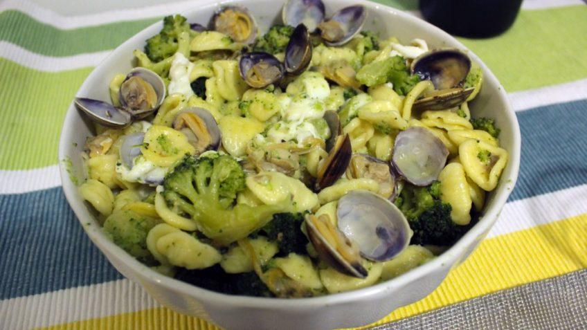 Orecchiette broccoli e vongole