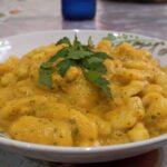 Gnocchi di patate con crema di zucca