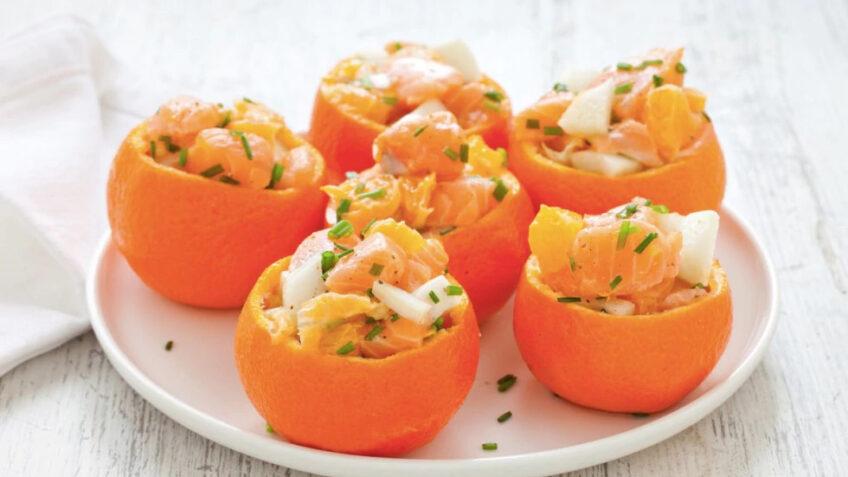 Insalata di mare all'arancia ricetta incucinaconte